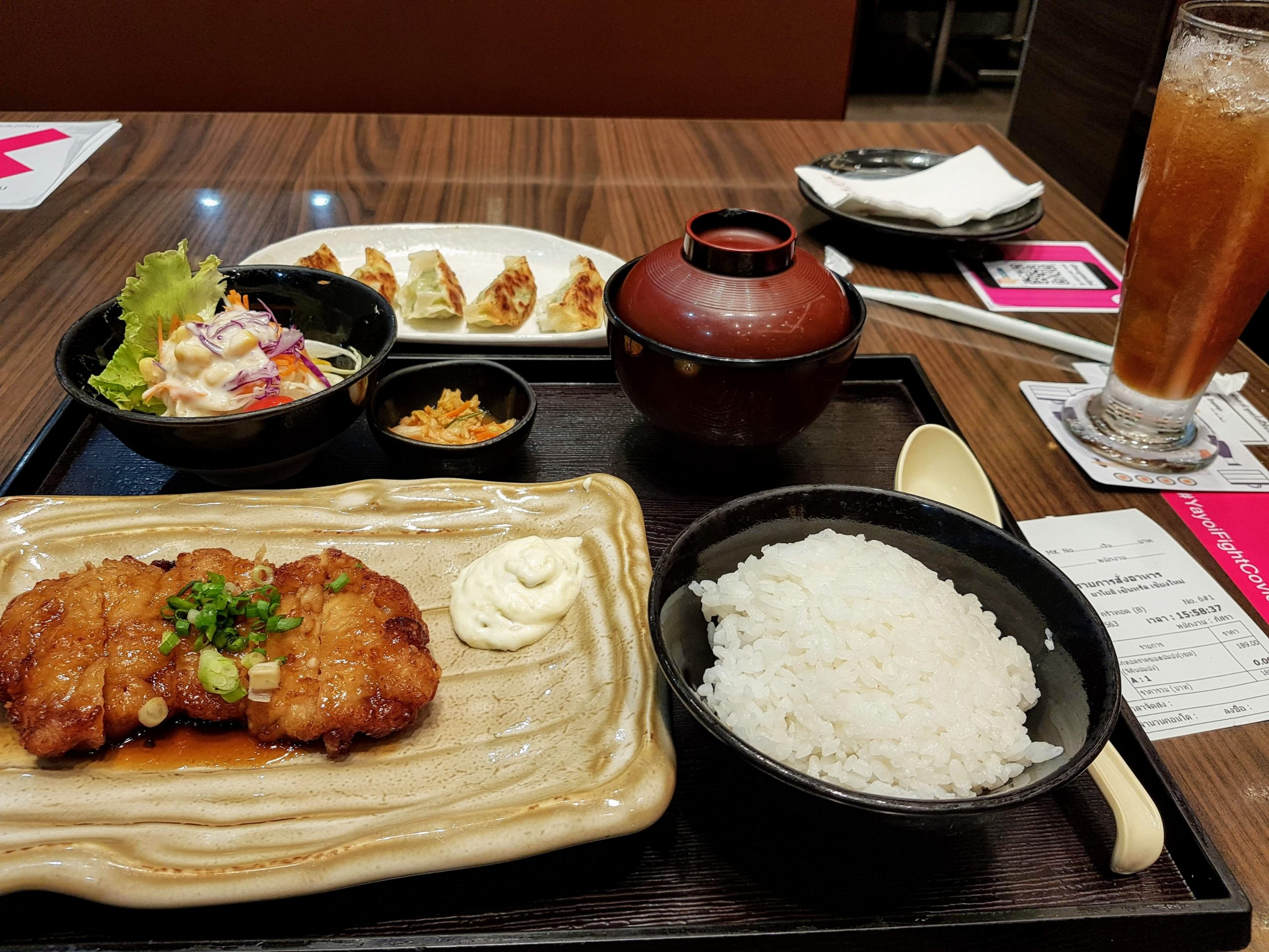 japanese food at yajoi