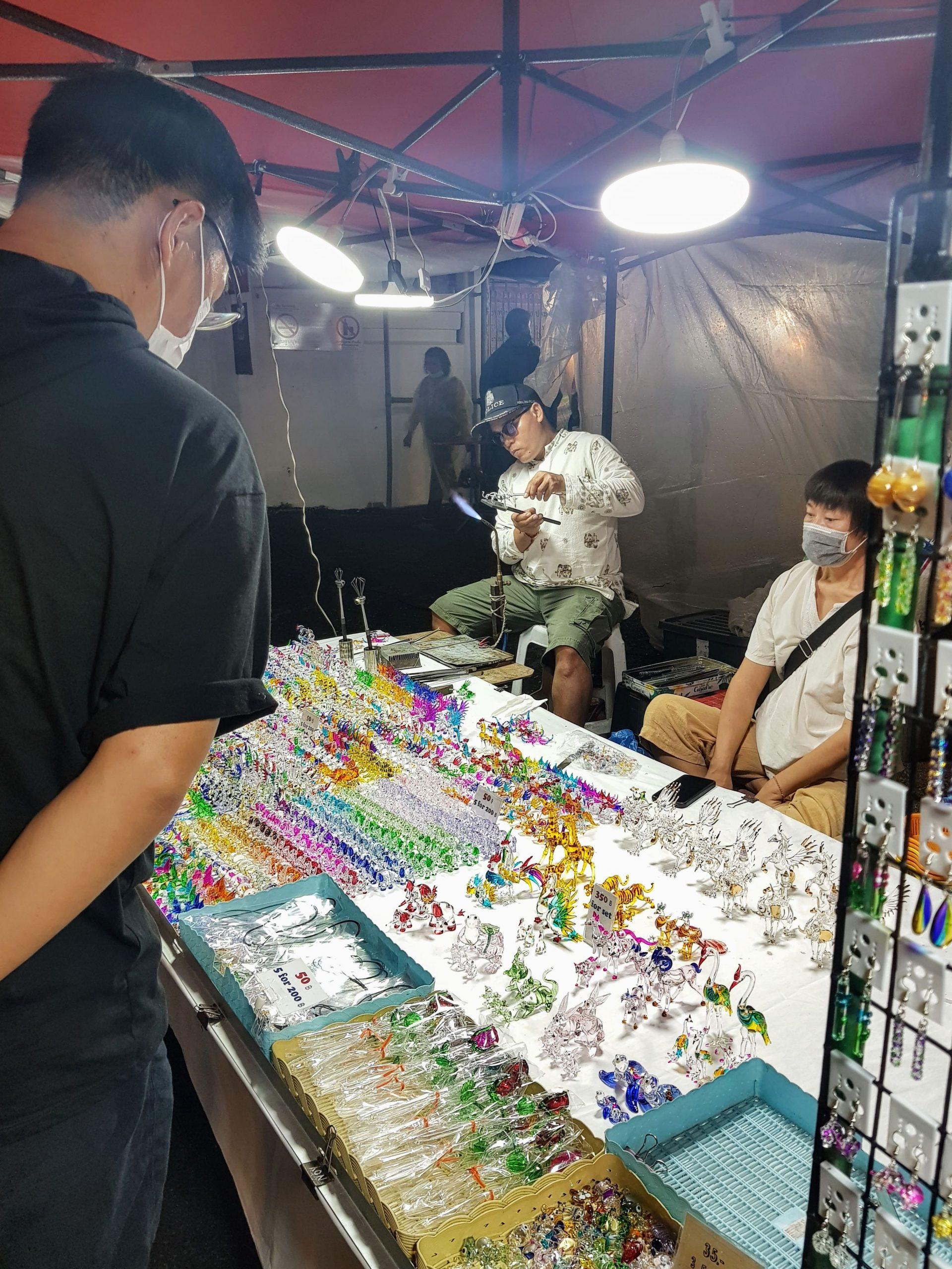 stall at sunday night market